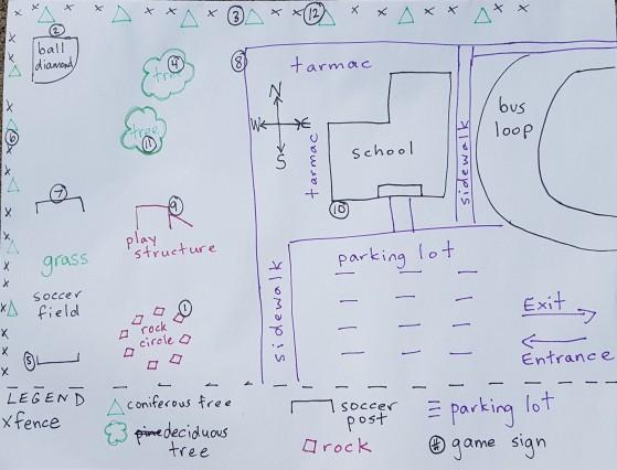 Schoolyard Map